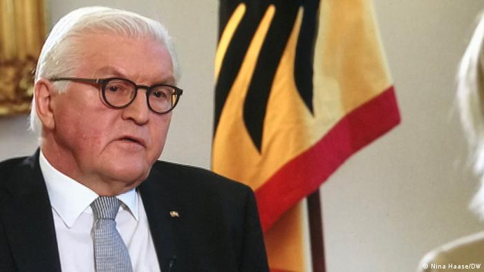 Frank-Walter Steinmeier im DW-Interview