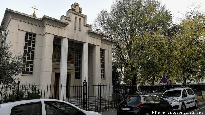 Православна церква у Ліоні, де стався напад на священника