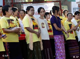 Aung San Suu Kyi's National League for Democracy has called for a boycott of the polls