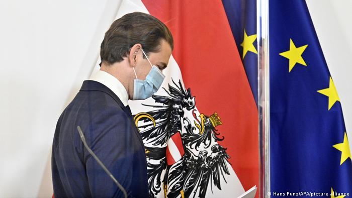 Österreich | Coronavirus | PK Bundeskanzler Sebastian Kurz (Hans Punz/APA/picture alliance)
