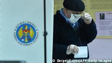 Republik Moldau Chisinau Präsidentschaftswahl