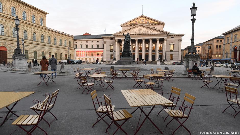 Lockdown pode durar meses na Alemanha, diz ministro
