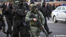 Belarus Minsk | Demonstration und Ausschreitungen