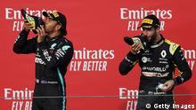 Formel 1 Emilia Romagna Grand Prix | Lewis Hamilton und Daniel Ricciardo