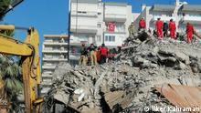 Türkei Izmir Erdbeben |Einsturz Yagcioglu Apt.