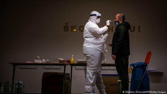 Test Ende Oktober in der slowakischen Hauptstadt Bratislava