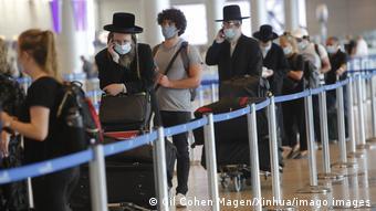 В международном аэропорту Тель-Авива
