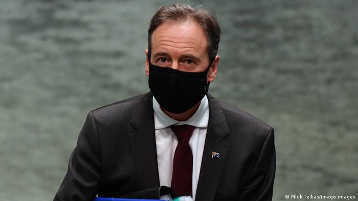 Australiens Gesundheitsminister Greg Hunt hat gute Nachrichten zu verkünden