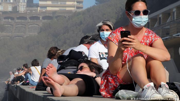 Frankreich Corona-Pandemie | Biarritz