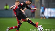 Bundesliga Freiburg gegen Leverkusen | Lucas Alario