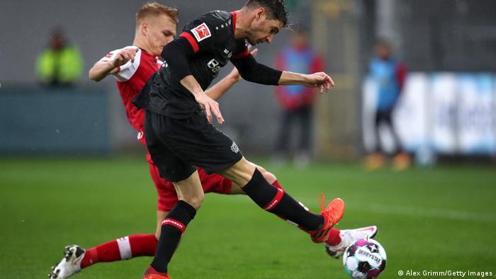 Bundesliga Freiburg gegen Leverkusen   Lucas Alario