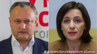 Игорь Додон и Майя Санду