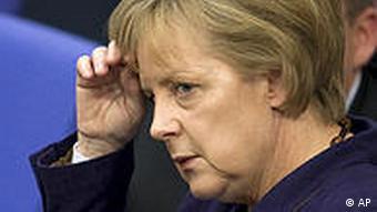 Kanzlerin Merkel ist nach dem Absturz der NRW-CDU ins Nachdenken gekommen (Foto: CDU)