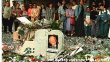 Trauernde Israelis Yitzhak Rabin