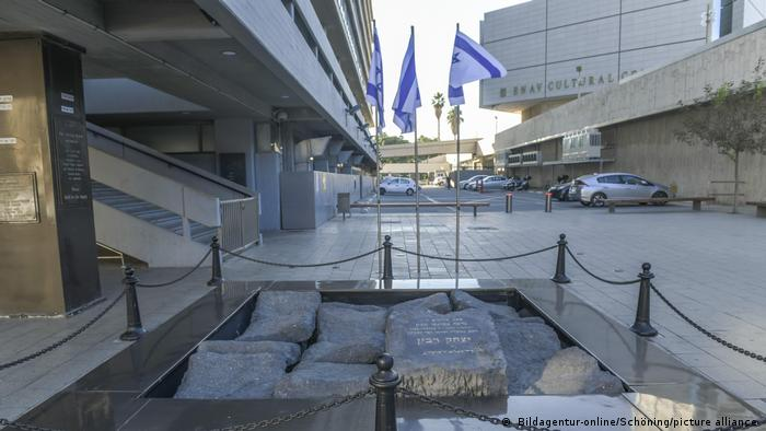 Gedenkort an den Mord an Izhak Rabin, Izhak Rabin Square, Tel Aviv, Israel