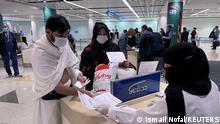 Saudi Arabien Omrah Pilgerfahrt nach Mekka