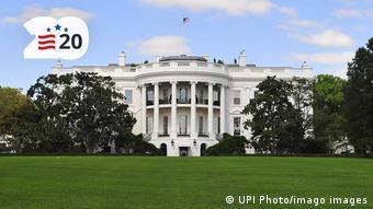 Лужайка перед Белым домом