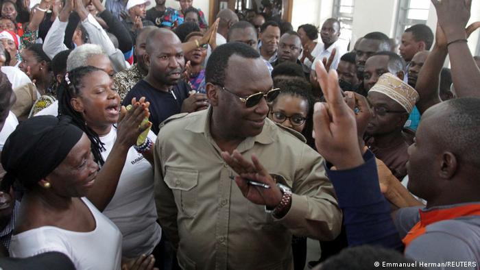 Tansania Opposition Freeman Mbowe