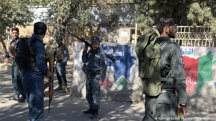 Afghanistan Kabul   Schießerei Universität   Militär