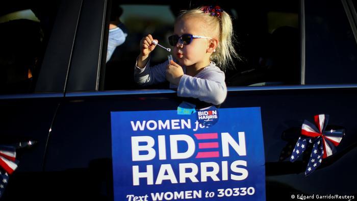 USA Die Wähler von Morgen: Kinder auf dem US-Wahlkampf (Edgard Garrido/Reuters)