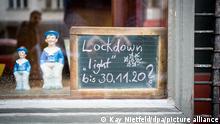 BdT Lockdown in Deutschland 2020 November