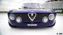 Titel: Giula GT Electric Alfa Romeo Electrified Schlagworte: Giula GT Electric, Alfa Romeo, REV, Electrified Copyright: DW (See attached file: GT Electric.jpeg)