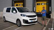 Check Opel Vivaro-e Schlagworte:Check, Opel Vivaro-e, Opel, REV Copyright: DW (See attached file: Opel Vivaro.jpeg)