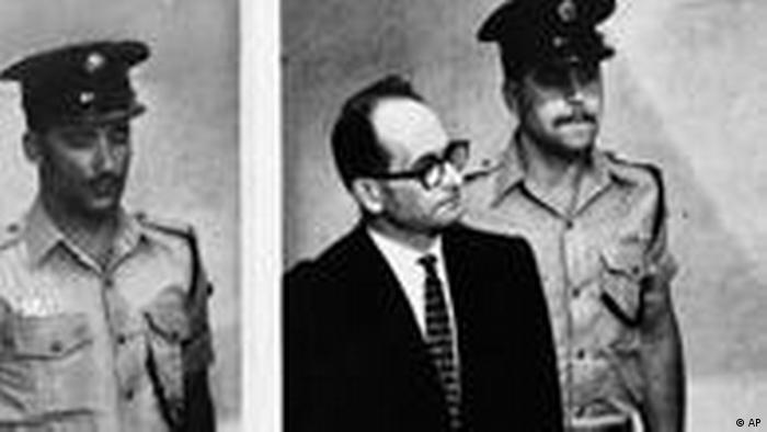 Adolf Eichmann Prozess in Jerusalem