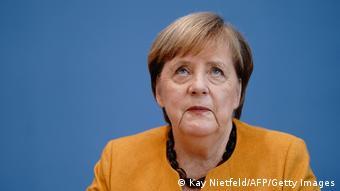 Deutschland Berlin | Pressekonferenz | Angela Merkel