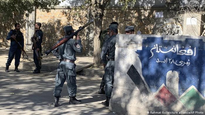 Afghanistan Kabul Anschlag auf Universität