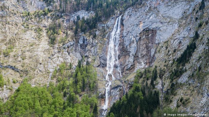 Röthbach Waterfall in Berchtesgaden Nature Park