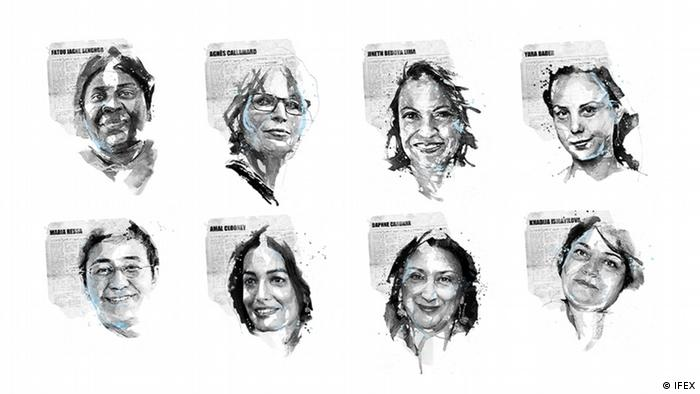 IFEX Faces of Free Expression 2020