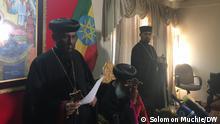 Äthiopien Addis Ababa | Pressekonferenz | Orthodoxe Kirche