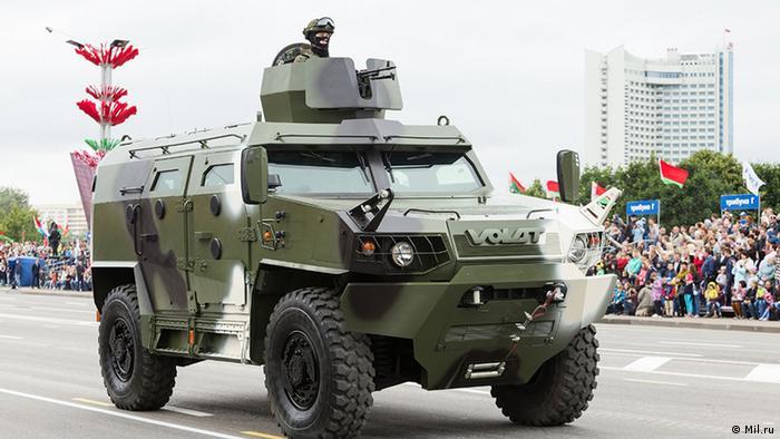 Бронеавтомобиль Volat V1, июнь 2017 года