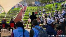 Kolumbien Ehemalige FARC-Mitglieder pilgern