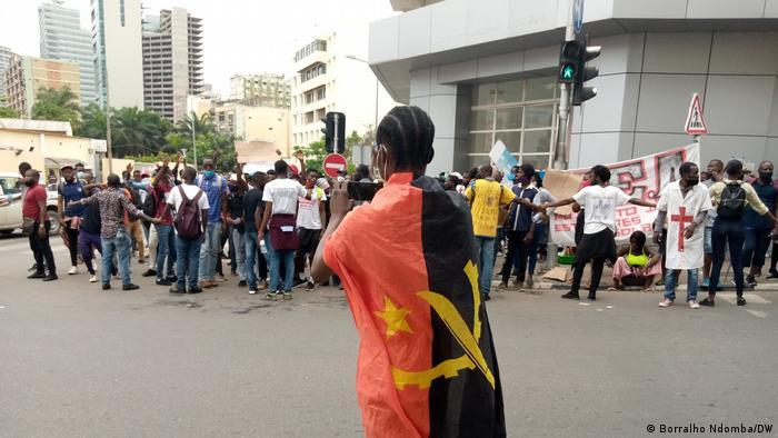 Angola Luanda | Demonstranten befreit