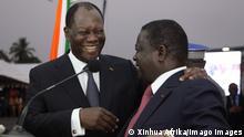Elfenbeinküste Abidjan | Alassane Ouattara und Henri Konan Bedie 2014
