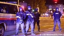 Österreich Wien | Polizeiaufgebot nach Schießerei im Stadtzentrum