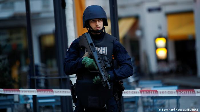 Издирвателните акции на полицията във Виена още не са приключили