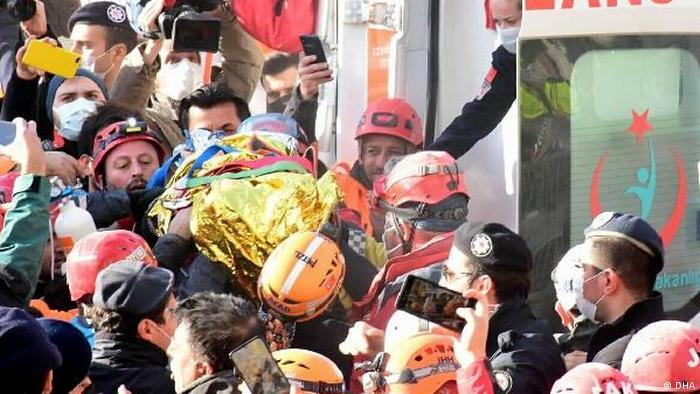 Türkei Erdbeben in Izmir