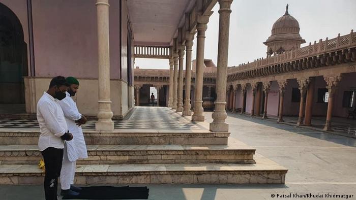 Indien Mathura Hinduismus Tempel Khudai Khidmatgar
