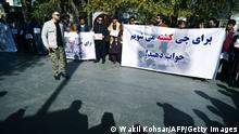 Afghanistan Proteste nach dem Anschlag auf die Universität in Kabul