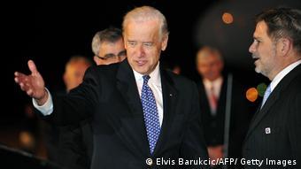 Joe Biden zu Besuch in Sarajevo 2009