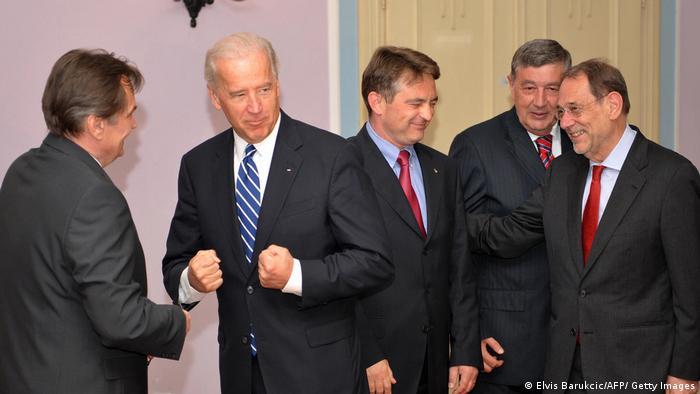 Biden u Sarajevu 2009. godine
