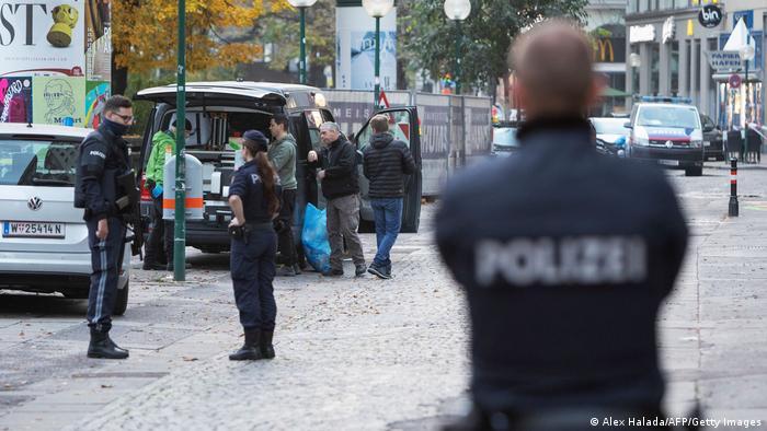 Österreich Anschlagserie in Wien