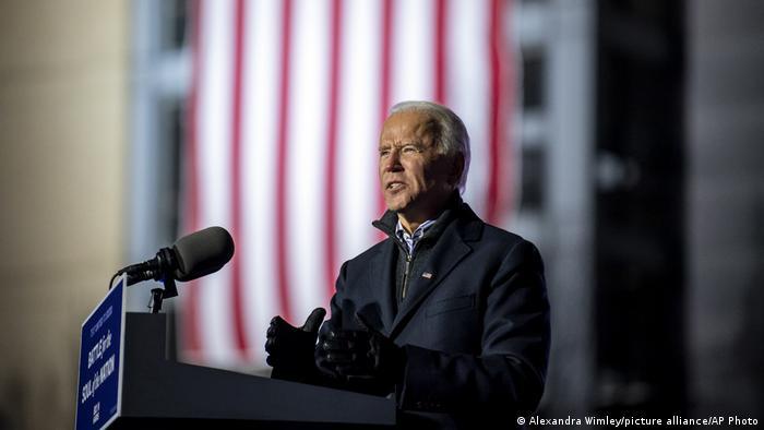 US Wahl 2020 Joe Biden Rally