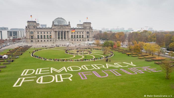 Deutschland Bürgerrat, Mehr Demokratie e.V.