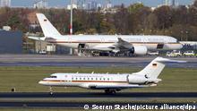 BdT Regierungsflieger am Flughafen Berlin Brandenburg
