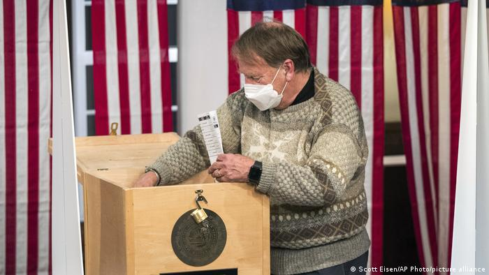 US Wahl 2020 Wahllokal in Dixville