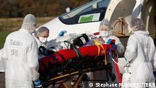 Frankreich Coronavirus Krankentransport